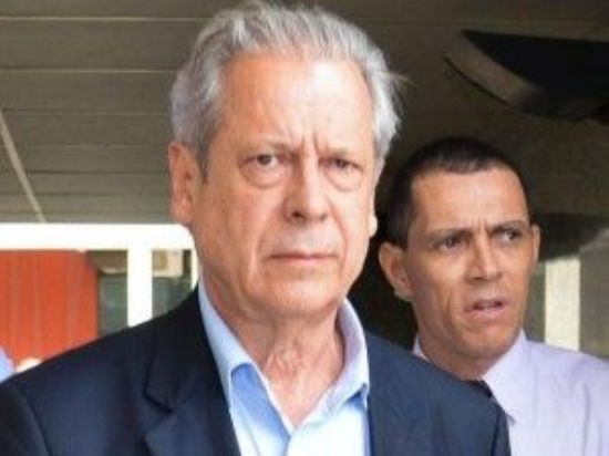 O político é fundador do PT e ex-ministro da Casa Civil no governo de L